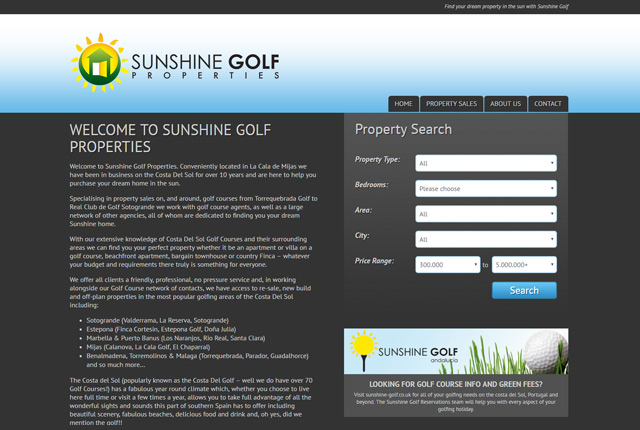 SunshineGolfProperties.com